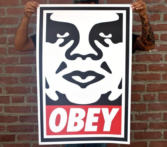 OBEY ICON Signed Offset Lithograph