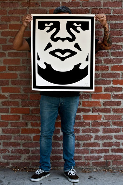 obey 3 face cream signed poster set store obey giant. Black Bedroom Furniture Sets. Home Design Ideas