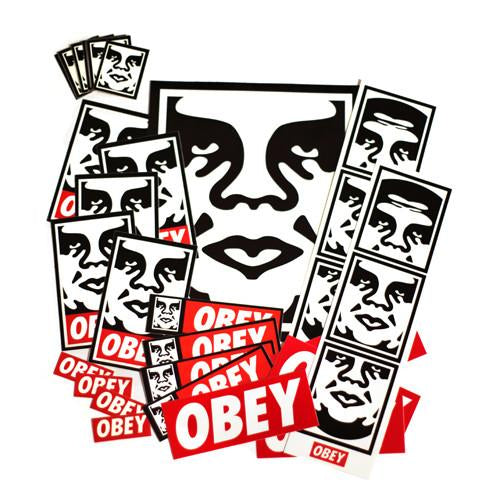 icon sticker pack store obey giant. Black Bedroom Furniture Sets. Home Design Ideas