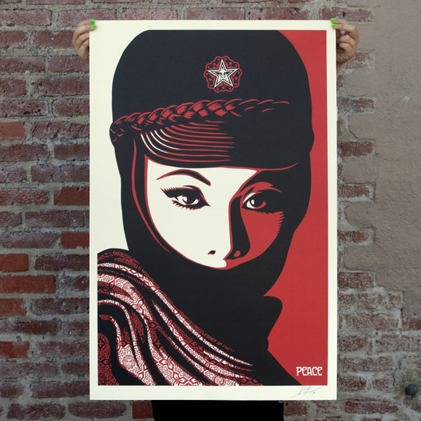 MUJER FATALE Signed Offset Lithograph