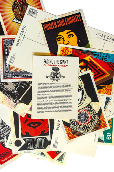 FACING THE GIANT Shepard Fairey Postcard Box Set