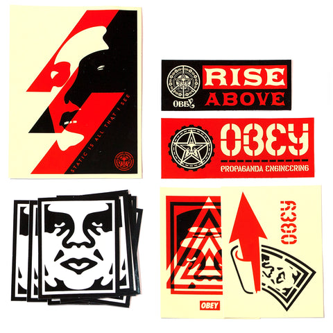 OBEY STICKER PACK 1