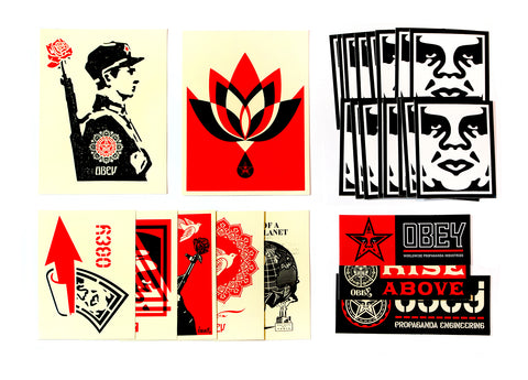 OBEY STICKER PACK 2