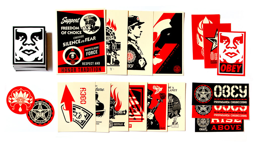 OBEY STICKER PACK 3