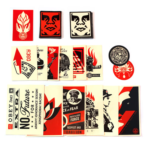 OBEY STICKER PACK 4
