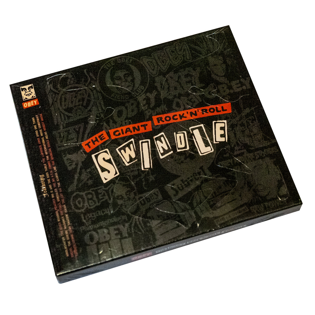 THE GIANT ROCK N ROLL SWINDLE CD - FREE with book purchase!