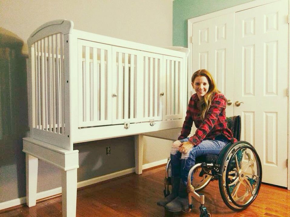Wheelchair Accessible Crib
