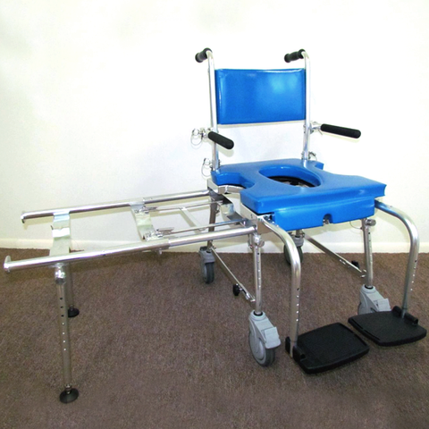 Footrests w/ Heel Straps & Adj. Knee Joints