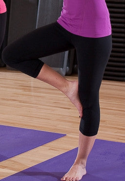 Black Straight Leg Yoga Pants