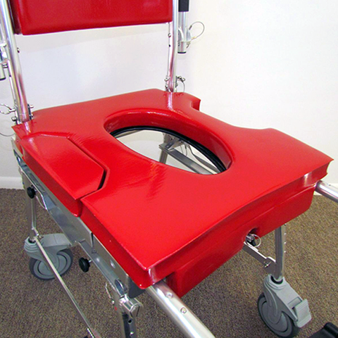 GO-Anywhere Commode 'n Shower Chair - Adjustable