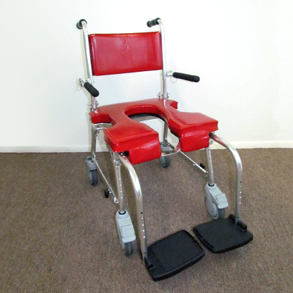 GO-ANYWHERE COMMODE 'N SHOWER CHAIR - SELF-PROPEL ADJUSTABLE (SP-A)