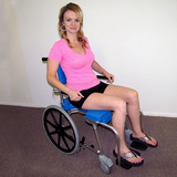 GO-Anywhere Commode 'n Shower Chair - Self Propel