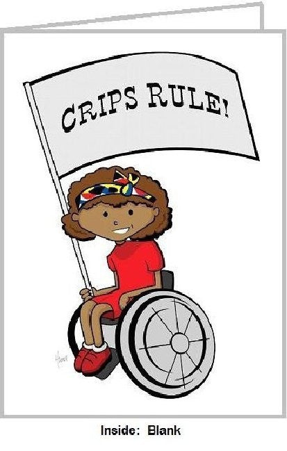 CRIPS RULE BLK GIRL