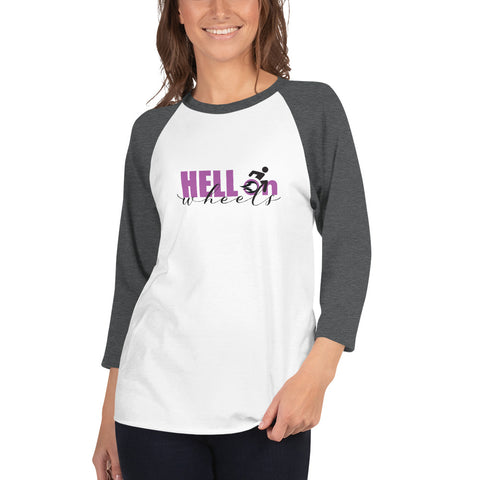 HELL on WHEELS Unisex Lightweight Hoodie / Wheelchair Lifestyle