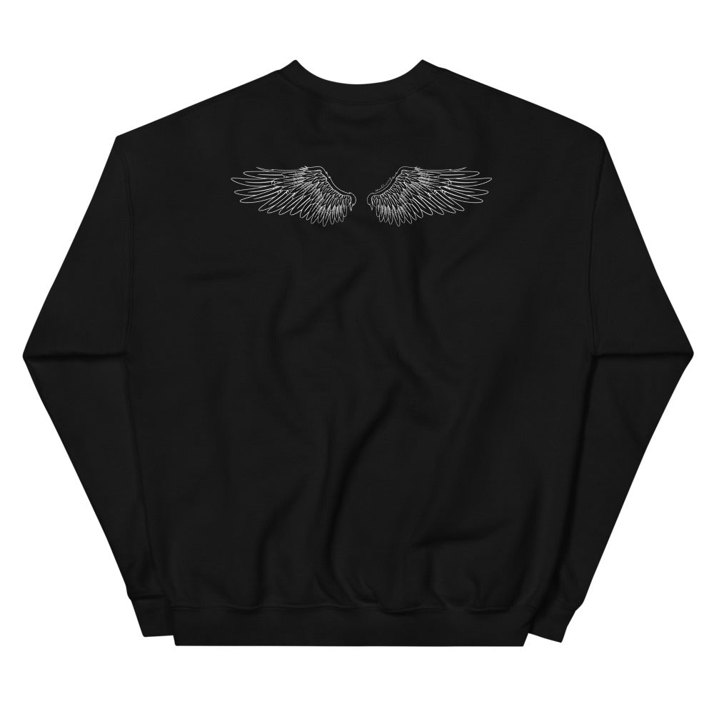 UNISEX SWEATSHIRT | BROKEN WINGS, STILL FLY