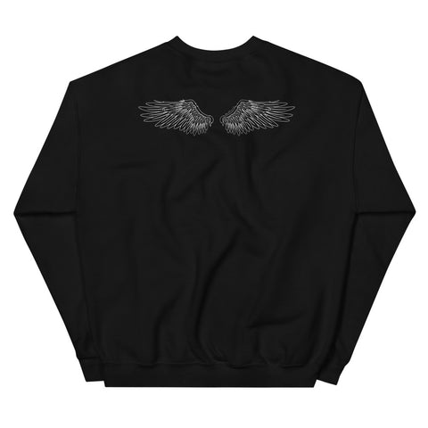 MENS SHORT SLEEVE ALL-OVER T-SHIRT | BROKEN WINGS, STILL FLY