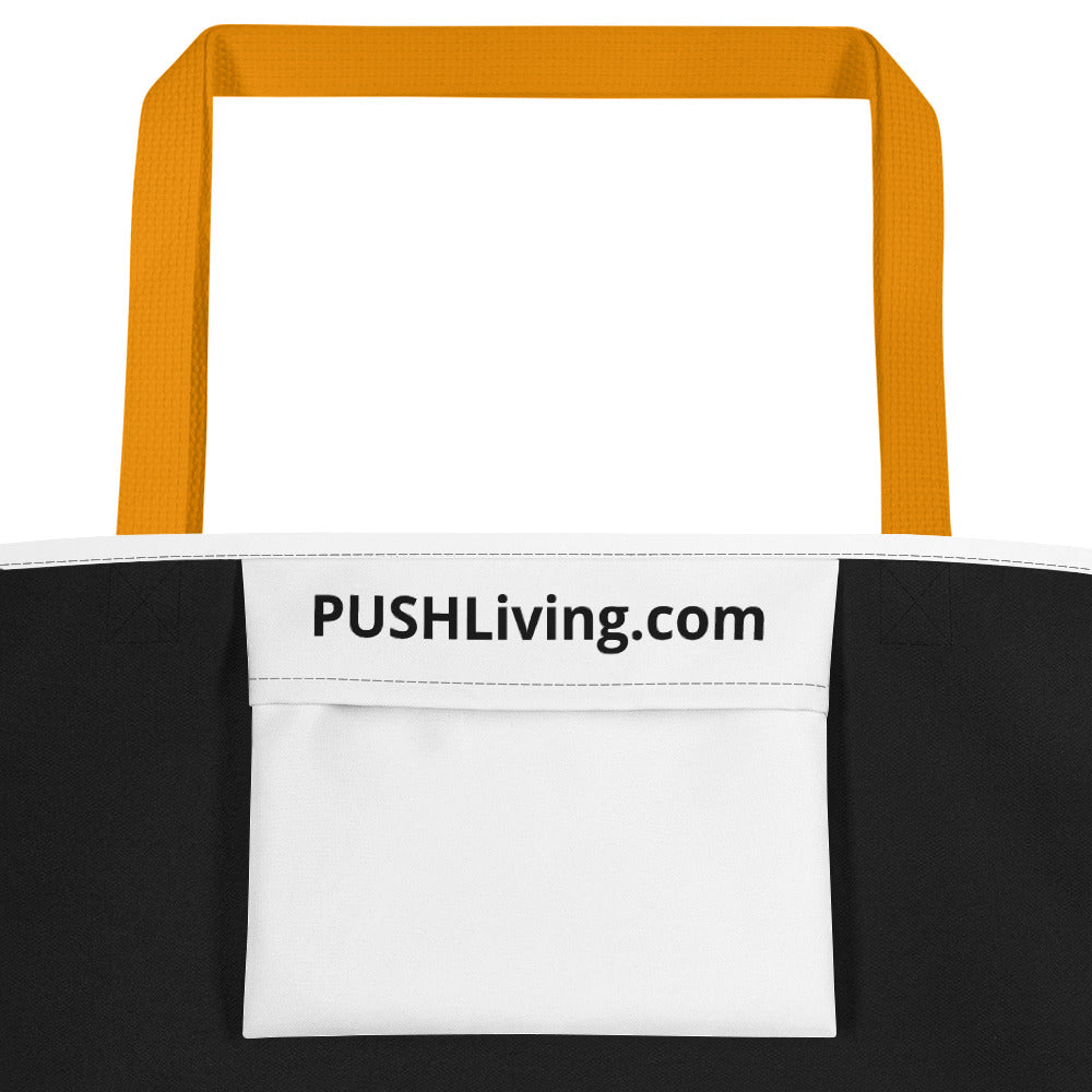 Beach Bag with Positive Disability Image