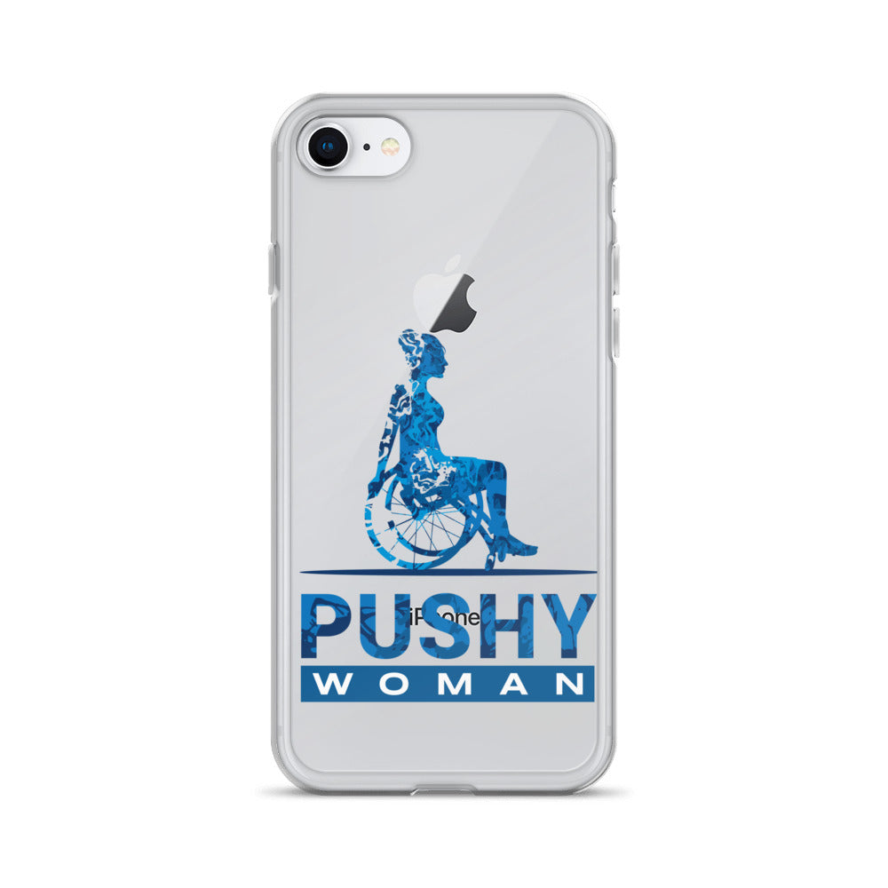 PUSHY Woman iPhone Case