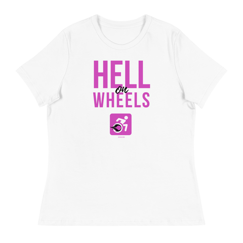 WOMENS SHORT SLEEVE T-SHIRT | HELL ON WHEELS