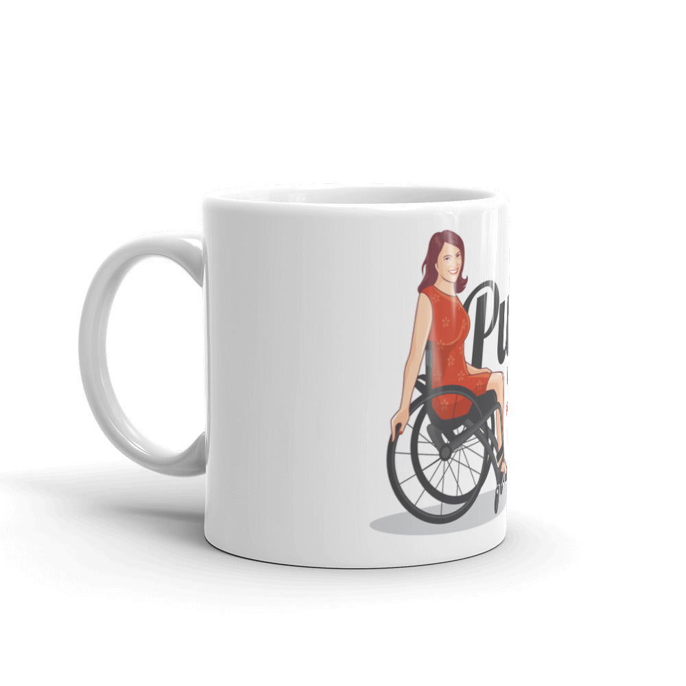 PUSHY WOMAN Mug