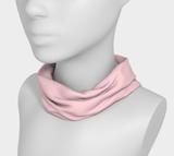 Illuminated Rose Soft Pink Solid Colour Headband  Art meets the most versatile of fashion accessories. The headband.    You can wear it in so many different ways: a pony tail holder, hood, face mask, hat liner, wrist band, sun protector.   So easy to wear. Perfect for working out, staying warm, hiking, or as a pop of colour to add to any look.  Compact enough to fit in your pocket, purse, or back pack.  Makes a great gift idea too! By VanIsleGoddess.Com