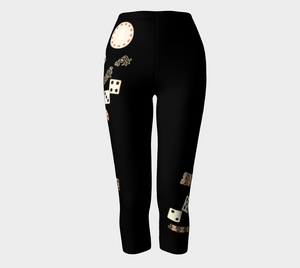 Showtime! Las Vegas Capris Look amazing in my Showtime! Las Vegas design!  Roll the dice, place your chips, it's showtime and your the star!  Great travel wear. By Van Isle Goddess