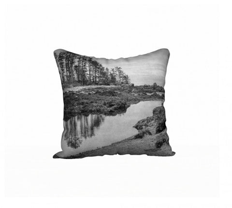 "Big Beach Ucluelet 18"" x 18"" Pillow Case by Roxy Hurtubise VanIsleGoddess.Com"