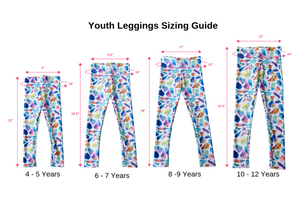 Island Goddess Rose Youth Leggings