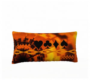 Nevada Dusk till Dawn II Las Vegas 24 x 12 Pillow Case Home Decor