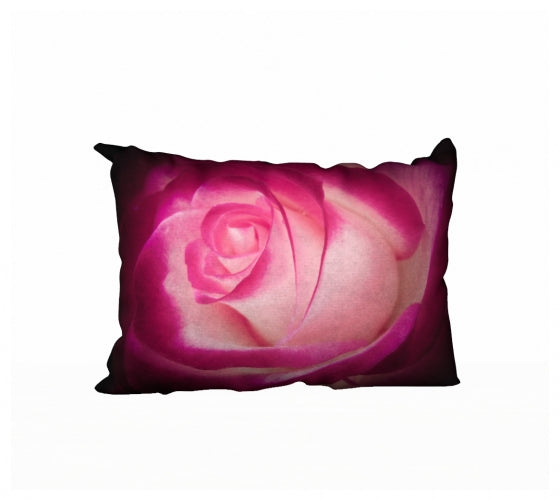 Illuminated Rose 20 x 14 Pillow Case
