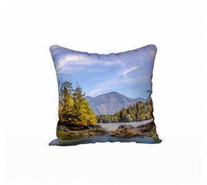 Tofino Inlet 18 x 18 Pillow Case