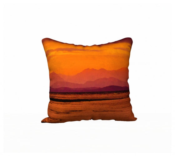 Saratoga Sunset 18 x 18 Pillow Case