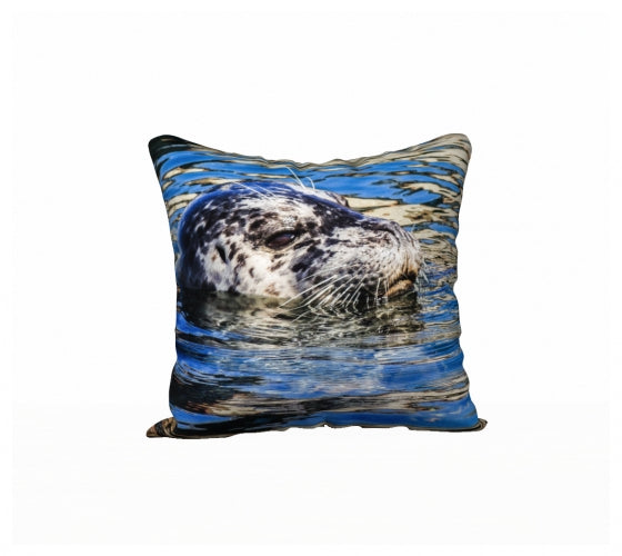 Seal Of Blue 18 x 18 Pillow Case