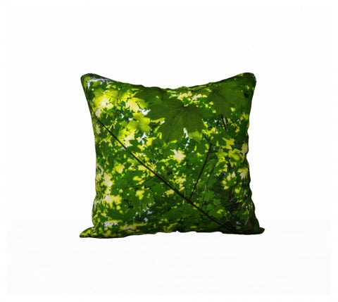 "Canopy of Leaves 18"" x 18"" Pillow Case"