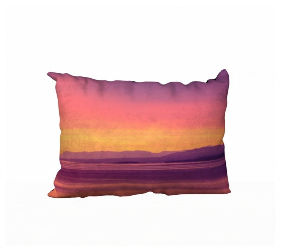 Vancouver Island Sunset 20 x 14 Pillow Case