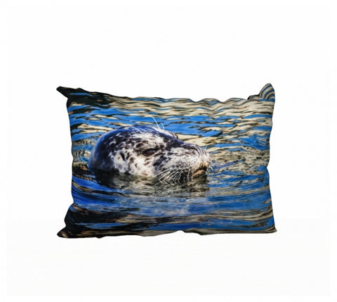 Seal of Blue 20 x 14 Pillow Case