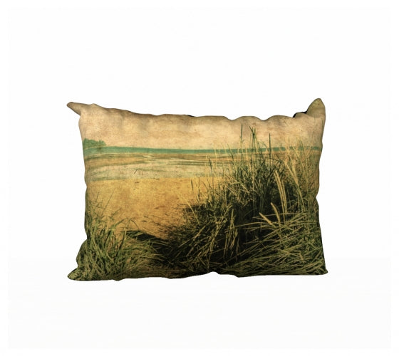 Vintage Beach 20 x 14 Pillow Case