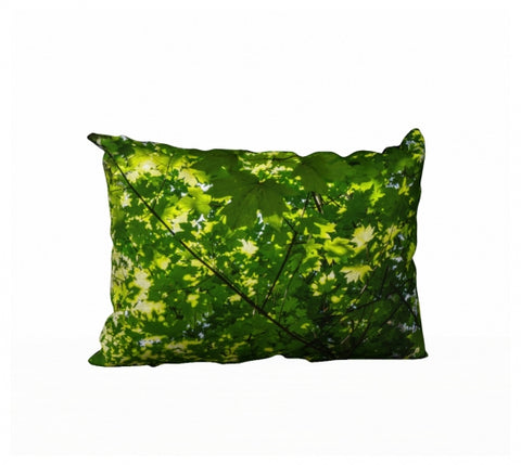 "Canopy of Leaves 20"" x 14"" Pillow Case"