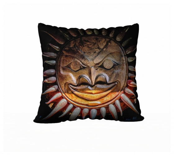 Sun Mask 22 x 22 Pillow Case