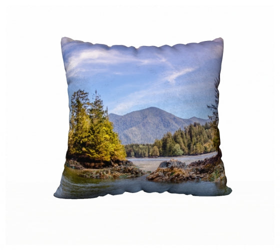 Tofino Inlet 22 x 22 Pillow Case