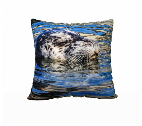 Seal Of Blue 22 x 22 Pillow Case