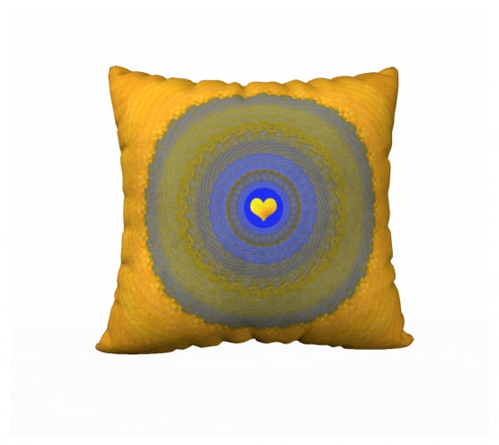 Sun Love 22 x 22 Pillow Case