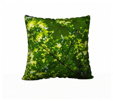 "Canopy of Leaves 22"" x 22"" Pillow Case"
