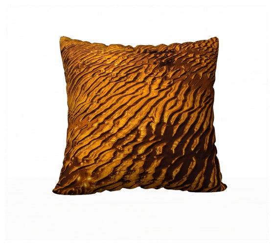 "Golden Sand 22"" x 22"" Pillow Case"