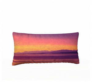 Vancouver Island Sunset 24 x 12 Pillow Case
