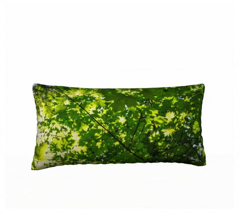 "Canopy of Leaves 24"" x 12"" Pillow Case"