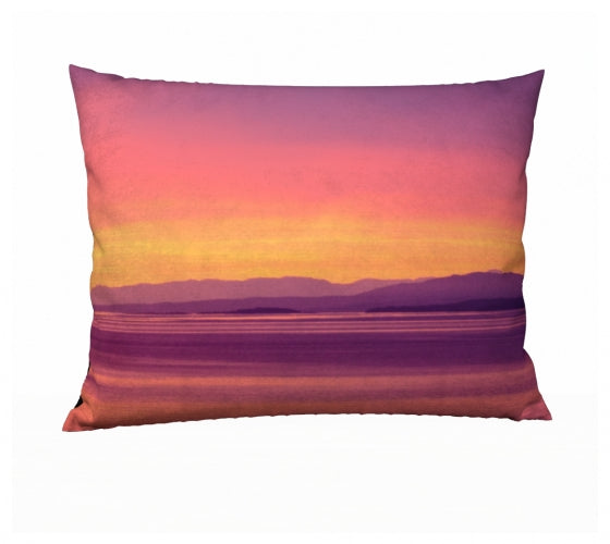 Vancouver Island Sunset 26 x 20 Pillow Case