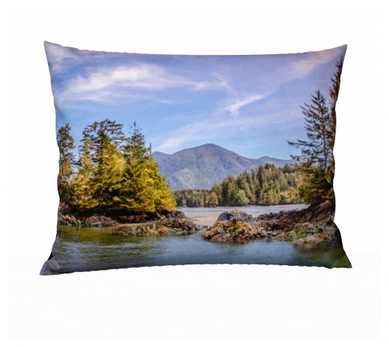 Tofino Inlet 26 x 20 Pillow Case