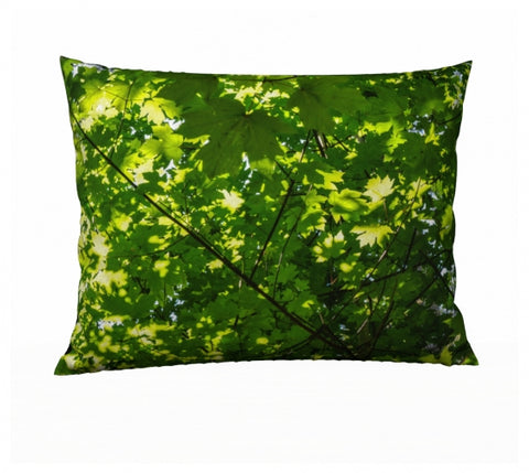 "Canopy of Leaves 26"" x 20"" Pillow Case"
