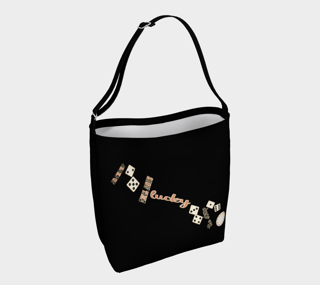 Showtime Las Vegas Day Tote Everyday Day Tote for Everything!  Van Isle Goddess ultimate tote bag!   Adjustable strap for comfort, the tote is made from soft and supple neoprene that stretches to fit whatever you can put in it!